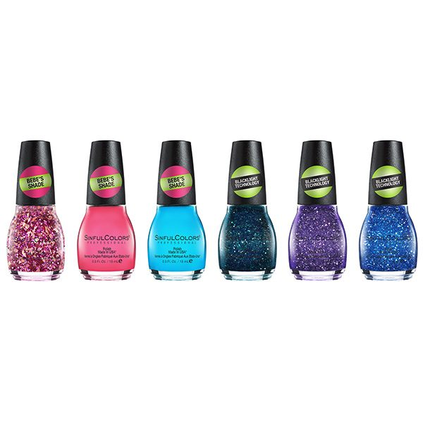 SinfulColors Wicked Neons Collection 6 pieces
