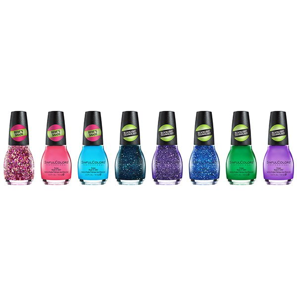 SinfulColor Wicked Neons Collection 8 Piece